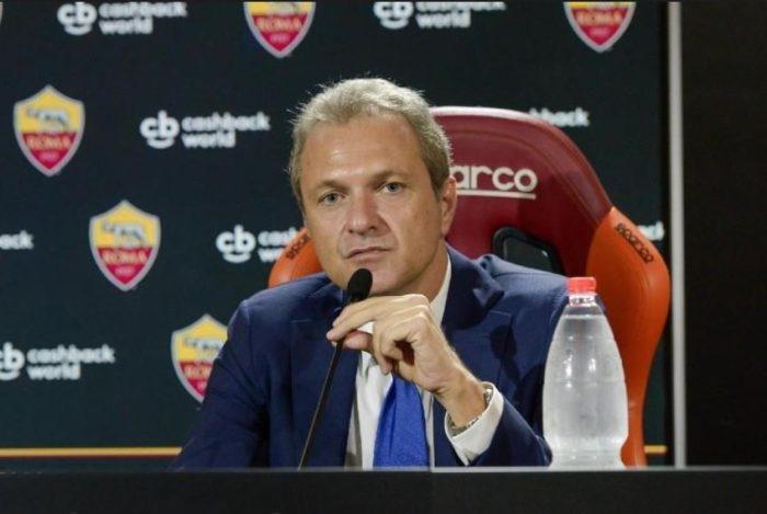 Roma name Guido Fienga new CEO, Baldissoni new executive vice
