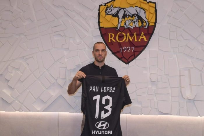 Image result for Pau Lopez to roma