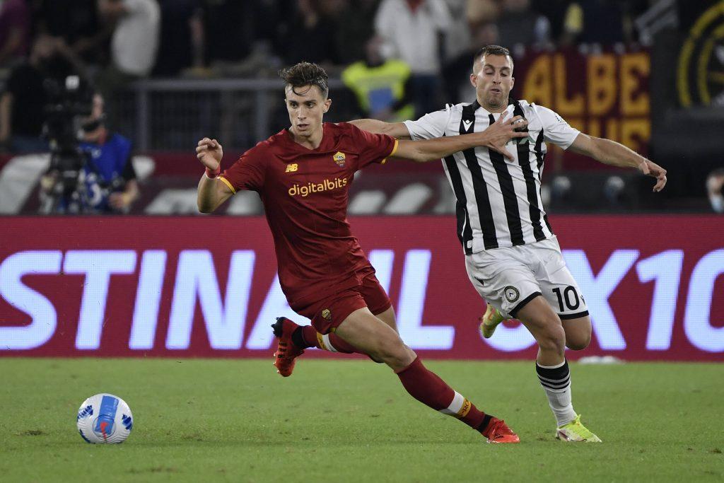 Riccardo Calafiori of AS Roma