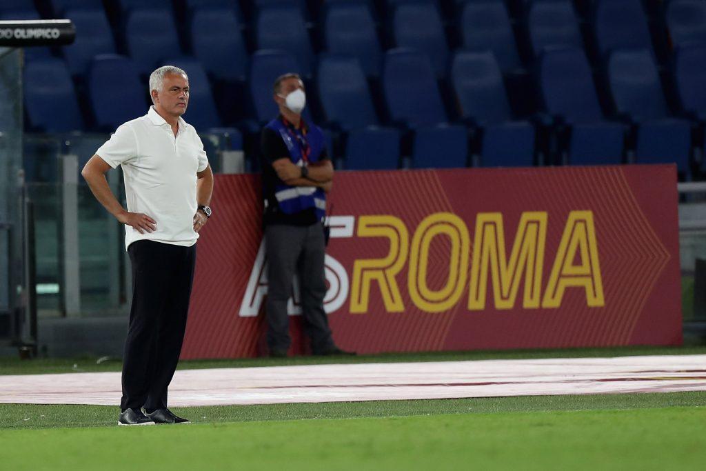 Roma boss Jose Mourinho