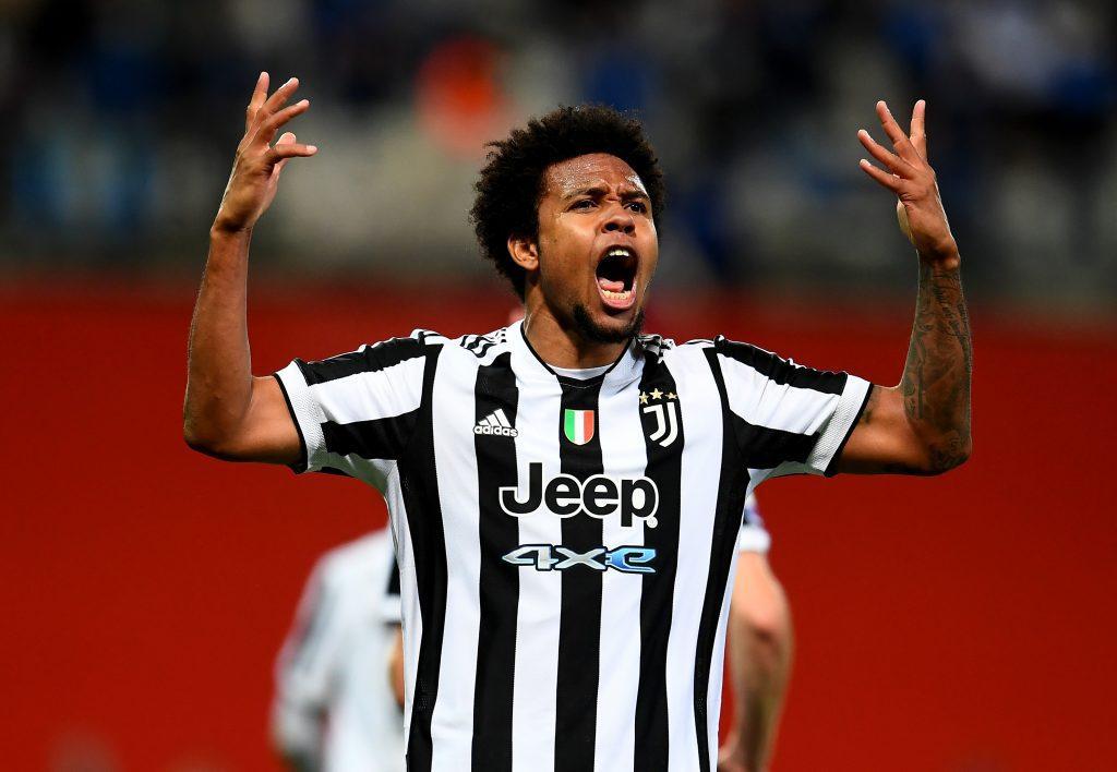 Juventus midfielder Weston McKennie