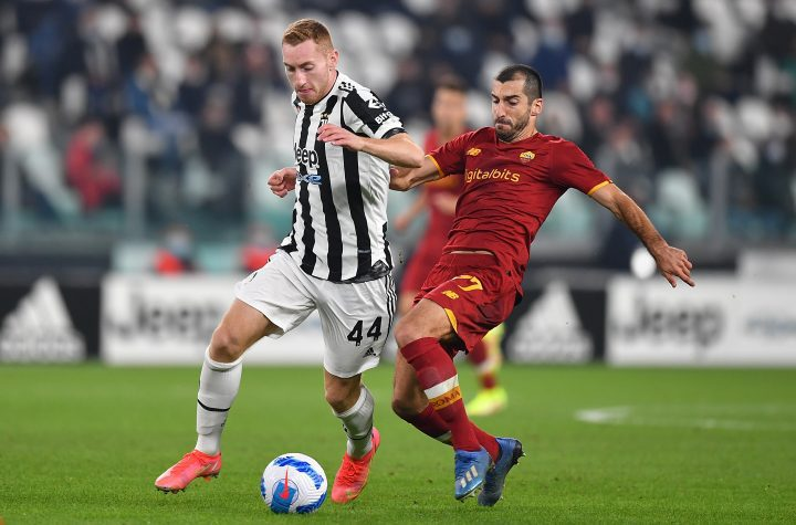 Roma attacker Henrikh Mkhitaryan