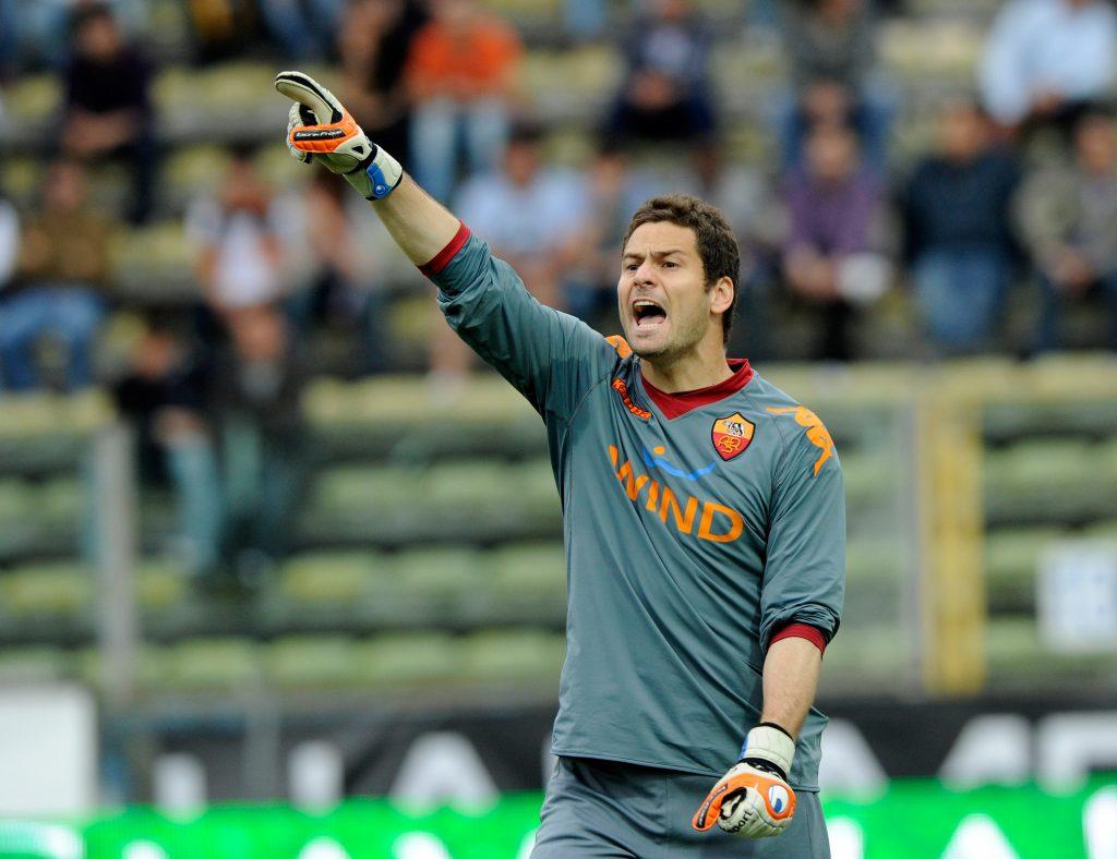 Former Roma goalkeeper Julio Sergio